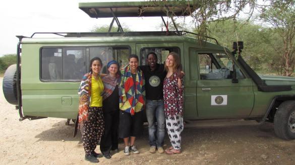 The family and friends safari
