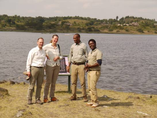 Walking at Arusha National Park